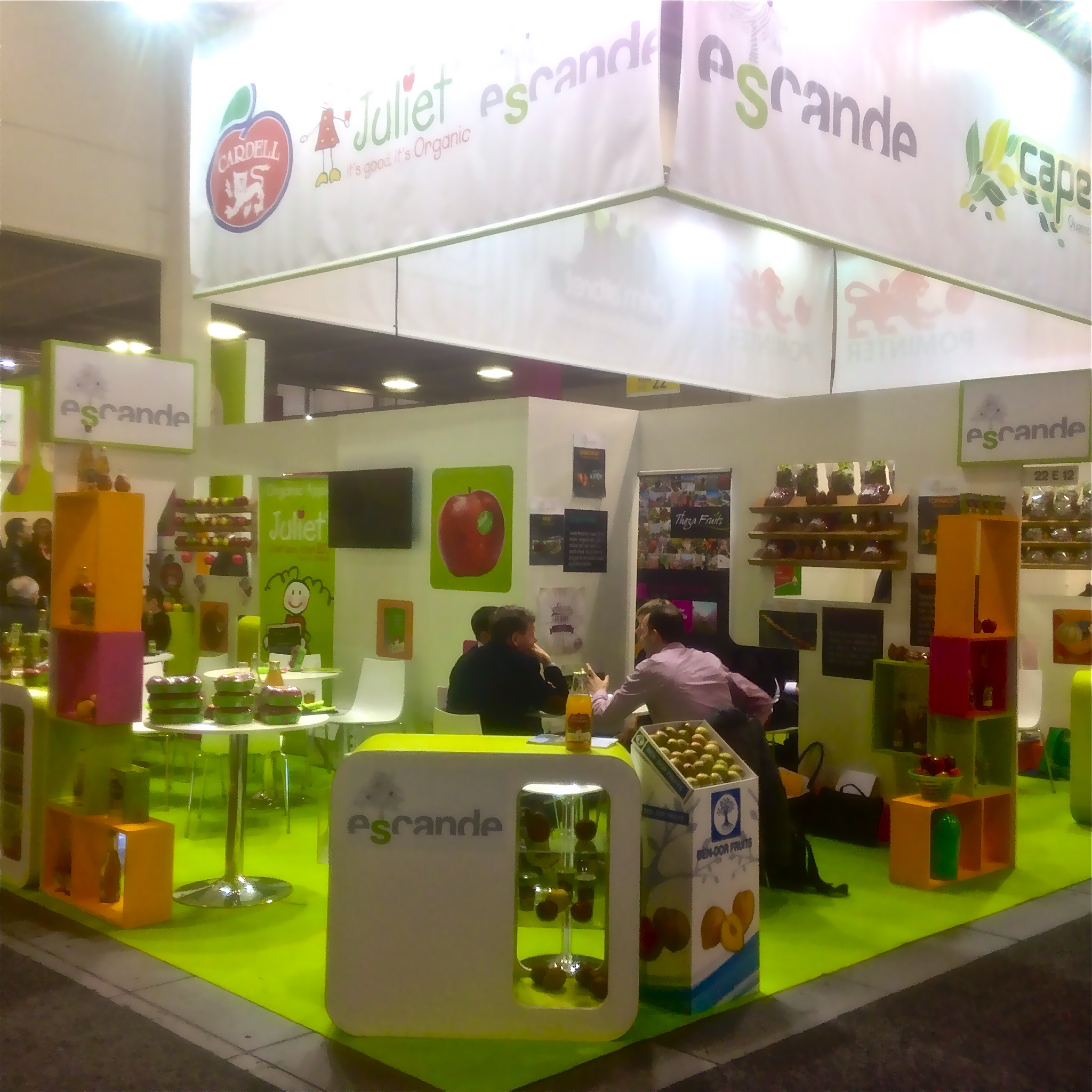 escande au salon fruit logistica